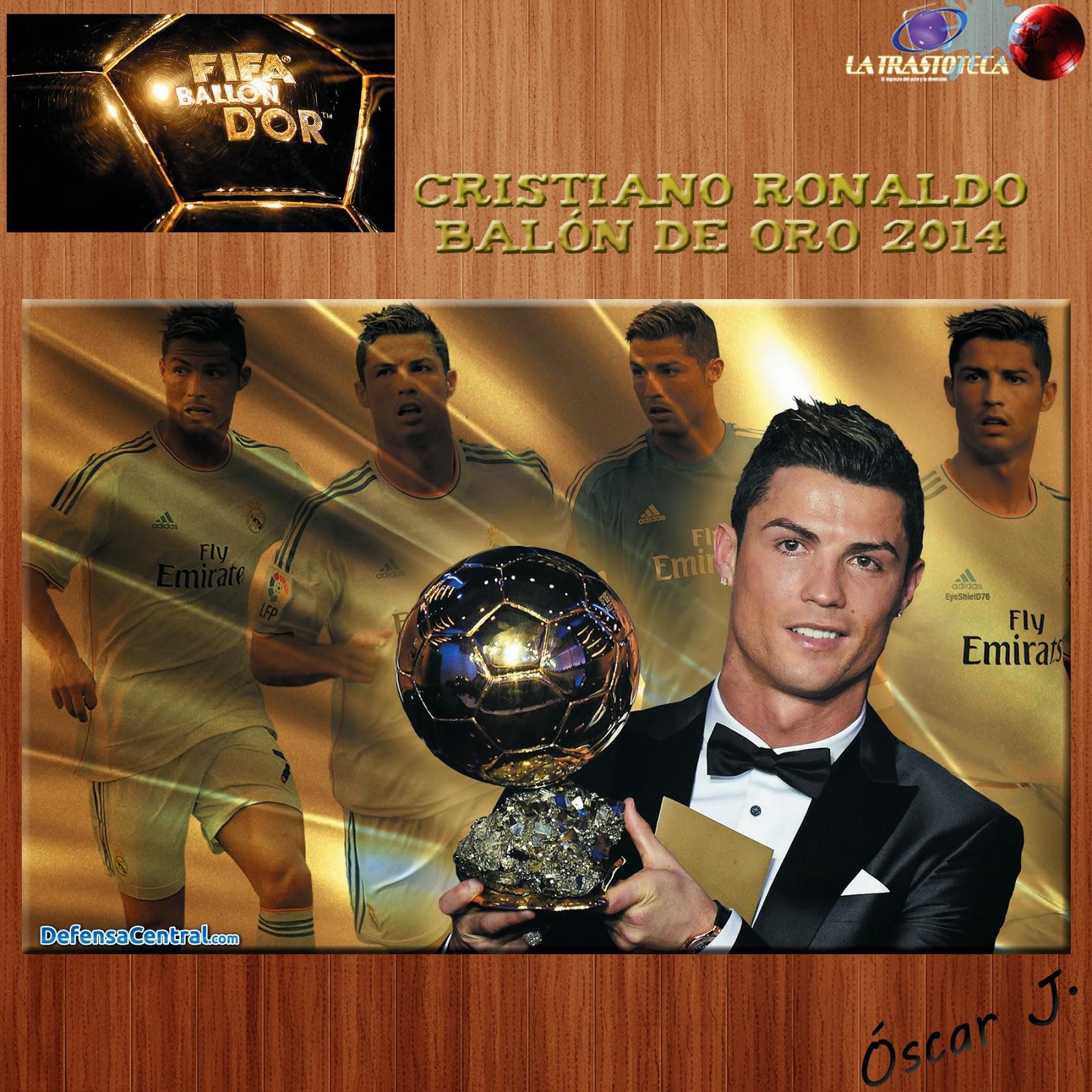 Cristiano Ronaldo gana su tercer Balón de Oro. El portugués del Real Madrid logró el 37,66 por ciento de los votos, muy lejos de Messi (15,76) y Neuer (15,72)