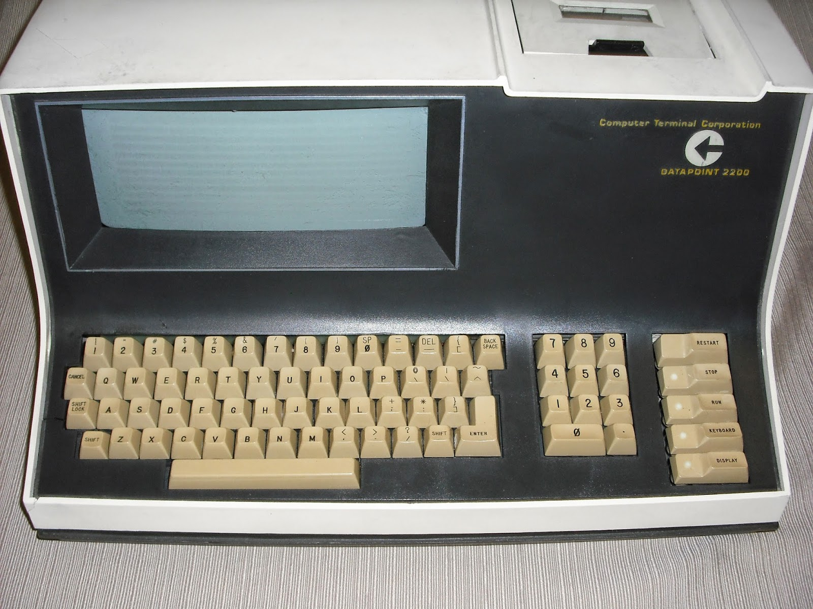 CTC2200 data terminal
