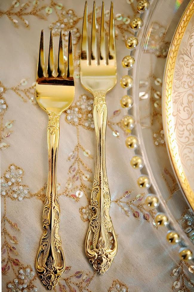 baroque cutlery