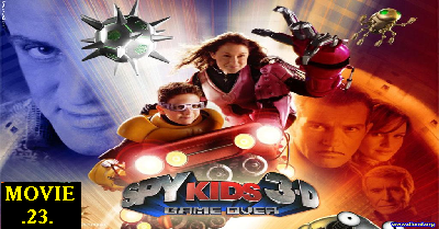 Spy Kids 3-D: Game Over, Spy Kids, 3D, Spy, Kids, 2003, Hollywood,