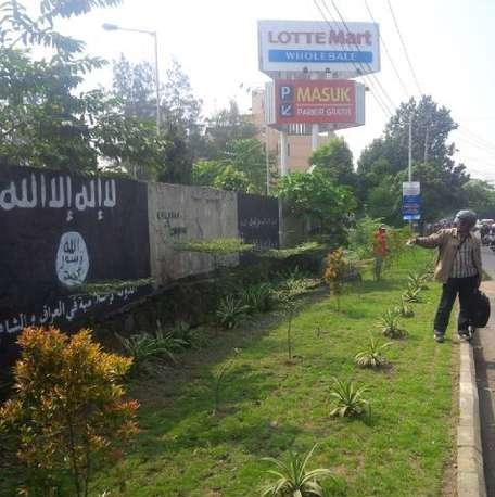 Lambang ISIS di Solo