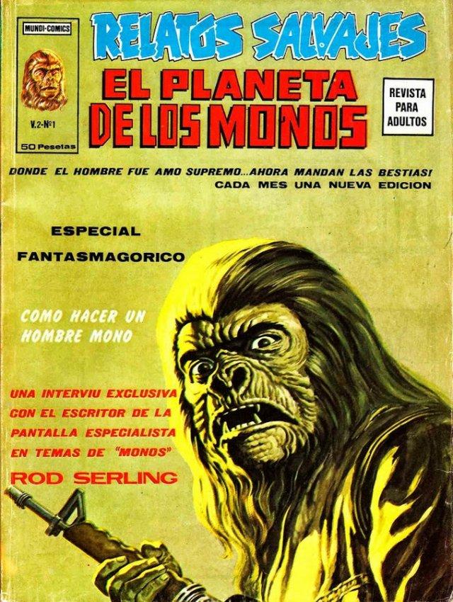 El Planeta de los Monos - Ediciones Vértice