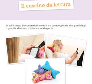 Come cucire un cuscino da lettura
