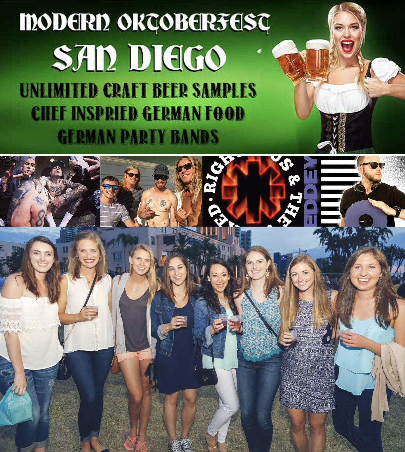 Save on passes & Enter to win VIP tickets to San Diego Oktoberfest - October 14!