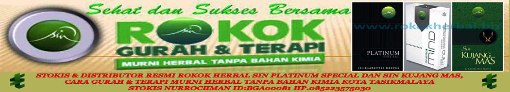 Terapi Asap Rokok Herbal