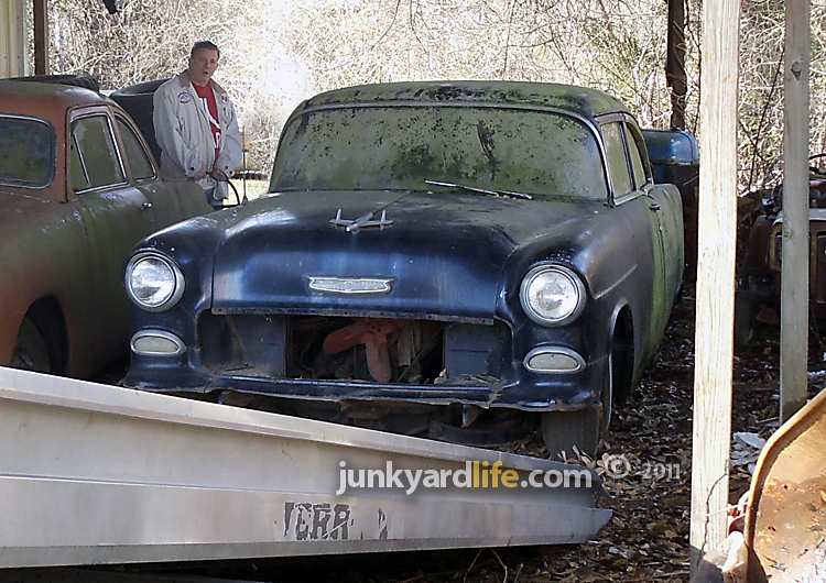 Ron Kidd Looks On In Disbelief That He Actually Owns This Barn Find 55 Chevy