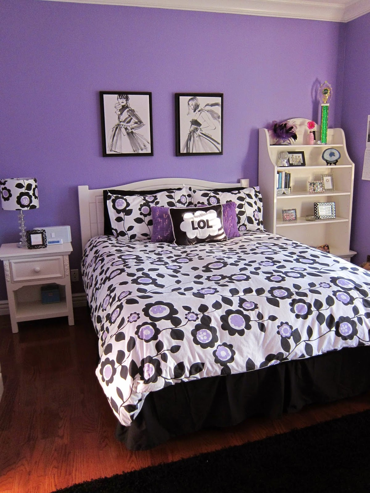 Beautiful and elegant teenagers bedroom ideas for girls for Elegant bedroom ideas for girls
