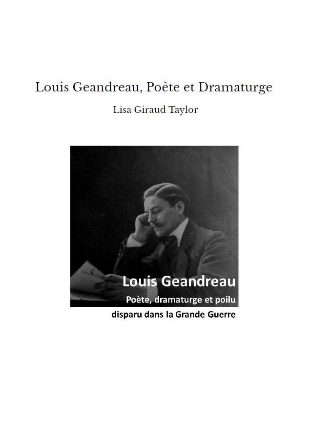 Si vous souhaitez acquérir un exemplaire de ma biographie sur Louis.....