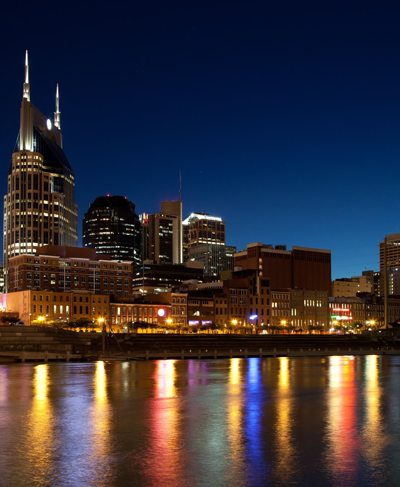 Music City at Night