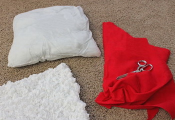 Материалы для подушки своими руками