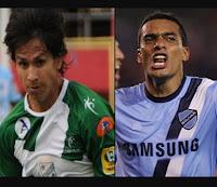 jugadores Bejarano y Ferreira