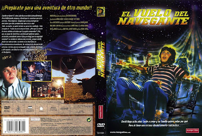 Cover, dvd, carátula: El vuelo del navegante | 1986 | Flight of the Navigator | Walt Disney