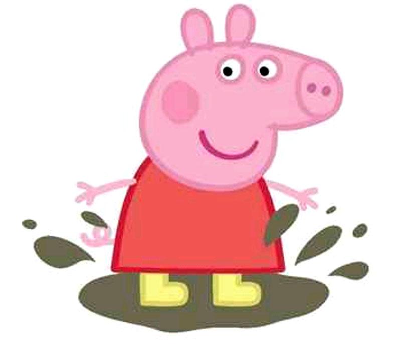 Dibujos De Personajes De Peppa Pig Para Imprimir