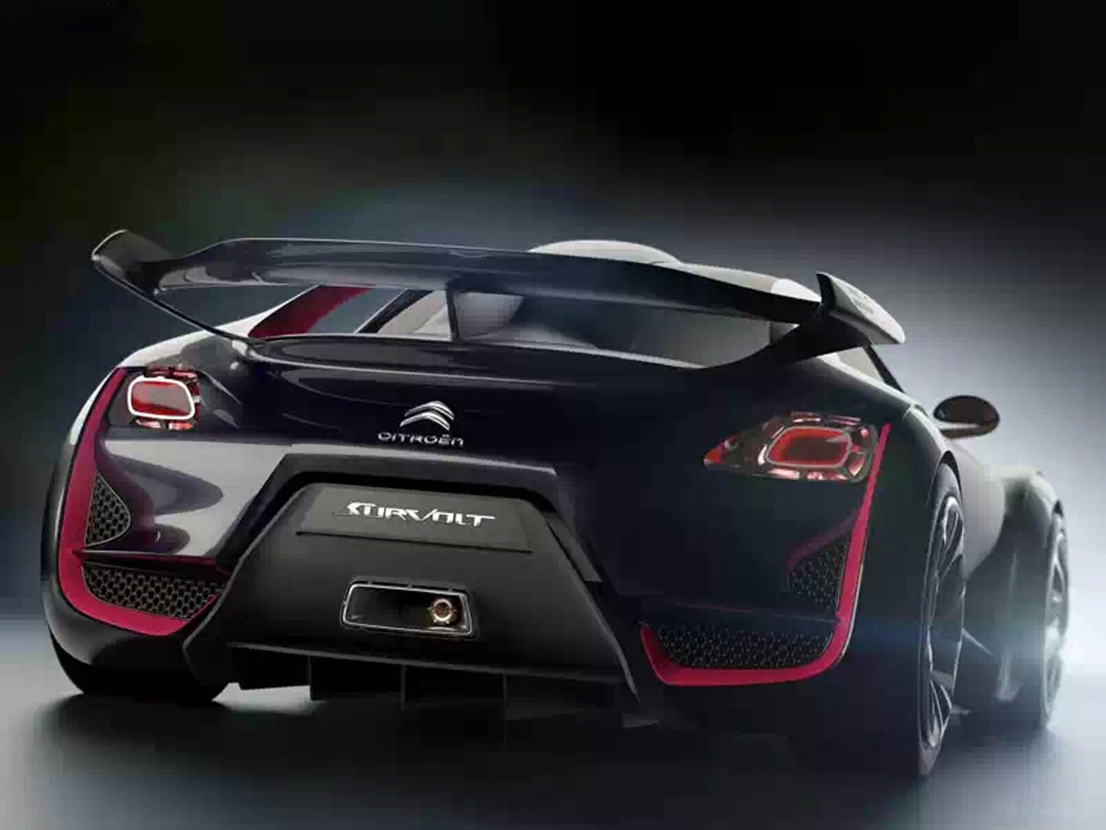 wallpapers: Citroen Survolt Concept Car Wallpapers
