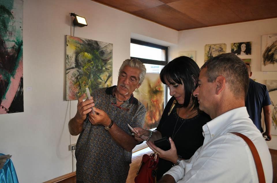 Con il grande  e noto artista Gino LOPERFIDO