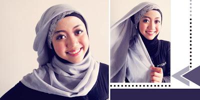 jilbab segiempat