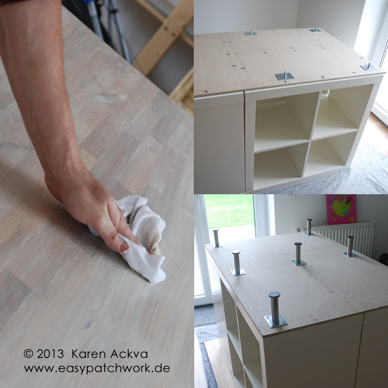easypatchwork new customized sewing room cutting table