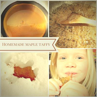 maple taffy