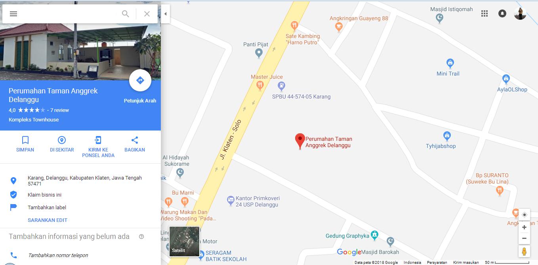 Alamat Kami - Klaten Jawa Tengah