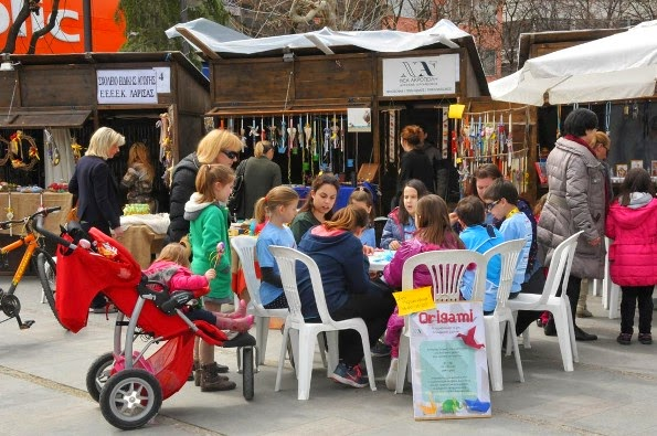 Το «Παραδοσιακό Χωριό του Πάσχα» στη Λάρισα. Συμμετοχή από τη ΝΕΑ ΑΚΡΟΠΟΛΗ Λάρισας