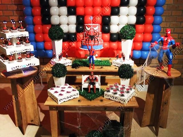 decoração de festa infantil homem aranha porto alegre