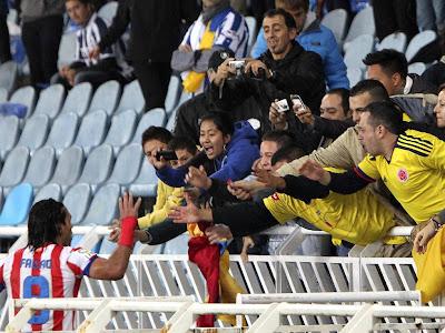 Falcao llevará a 3.000 colombianos al Vicente Calderón