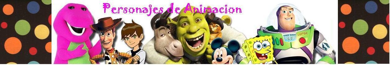Personajes de animacion
