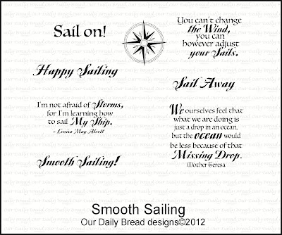 Our Daily Bread designs Smooth Sailing