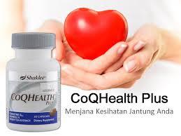 COQ Health Plus untuk Kesihatan Jantung Hati Pankreas dan Buah Pinggang Anda