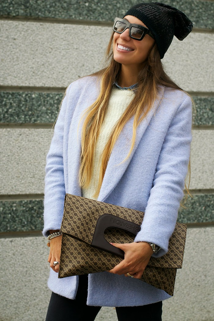 outfit cappotto ceruleo