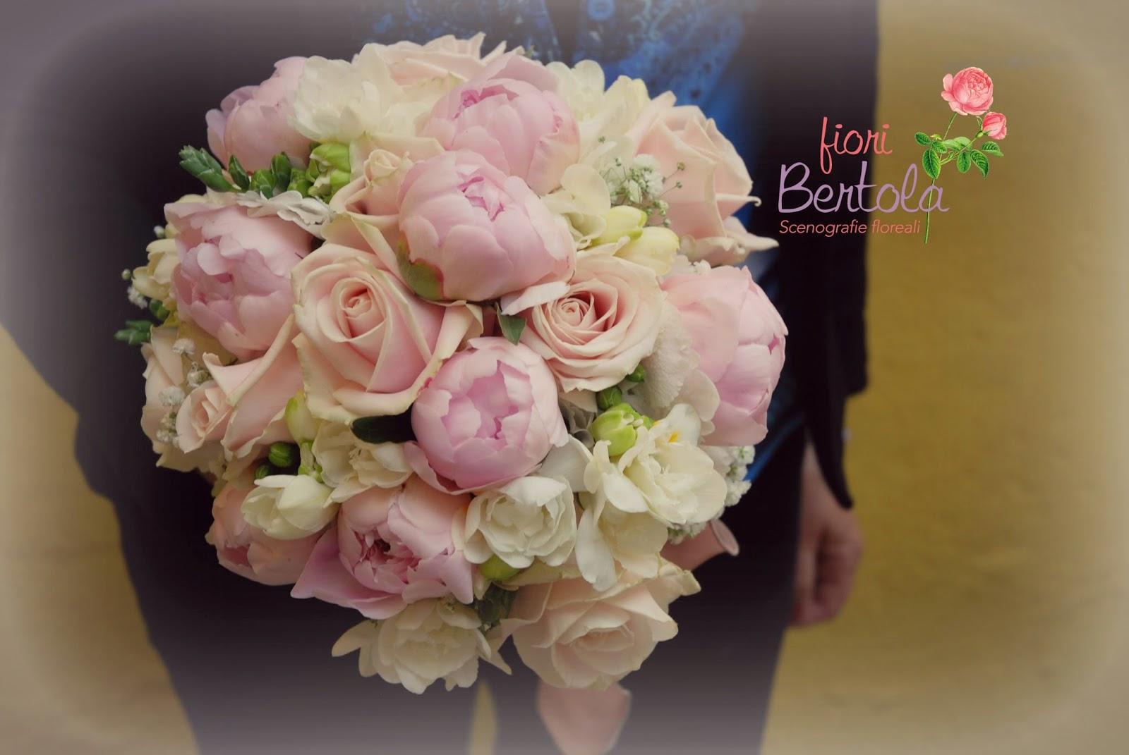 Ortensie Rosa Cipria : Fiori bertola matrimonio in bianco e rosa cipria