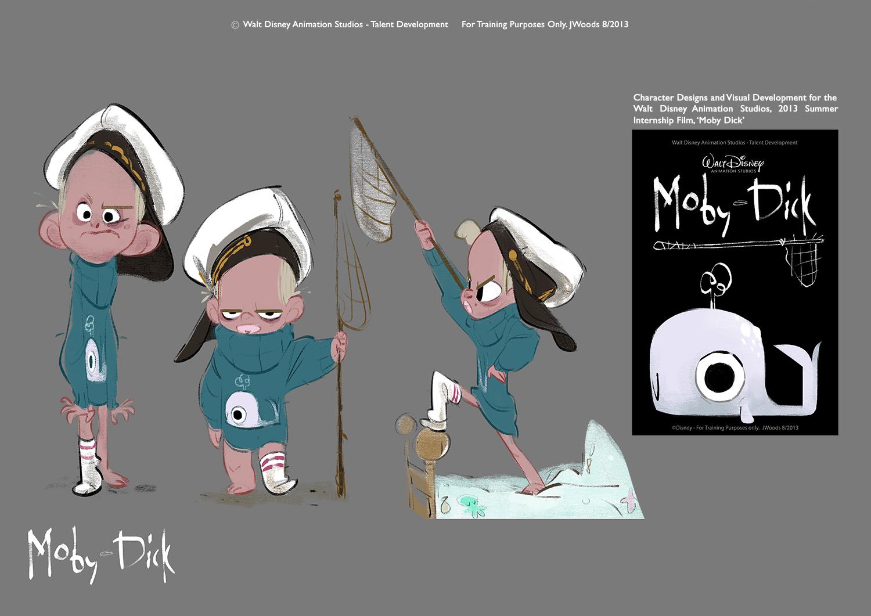 Disney Character Design Internship : J woods scribblers the internship