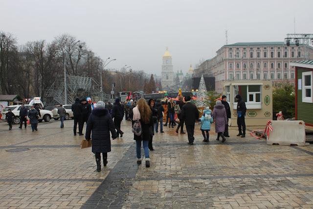 Михайловская площадь 19 декабря 2015 года