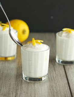 Coconut Lemon Mousse (Paleo, Raw, Vegan)