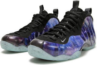 NBA Nike Foamposite Galaxy Shoes