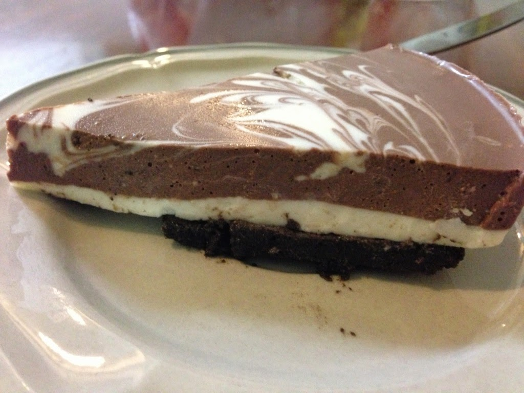 oreo choc cheese cake