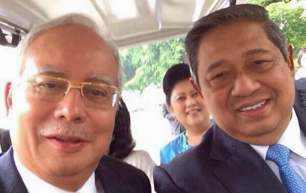 presiden sby selfie