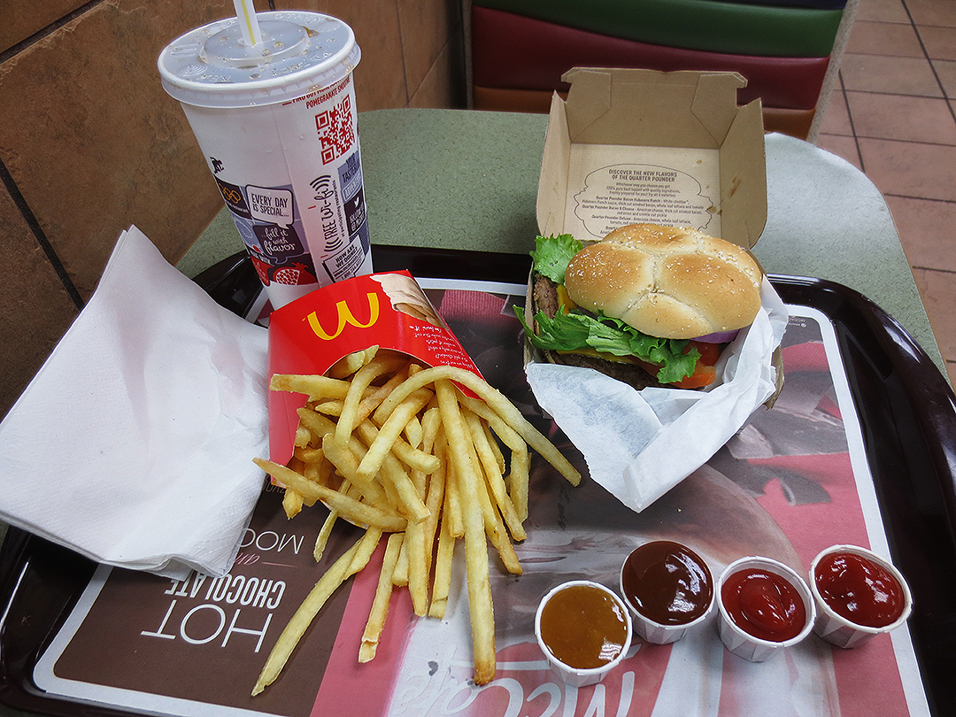 McDonald s Deluxe Quarter Pounder MealQuarter Pounder Meal