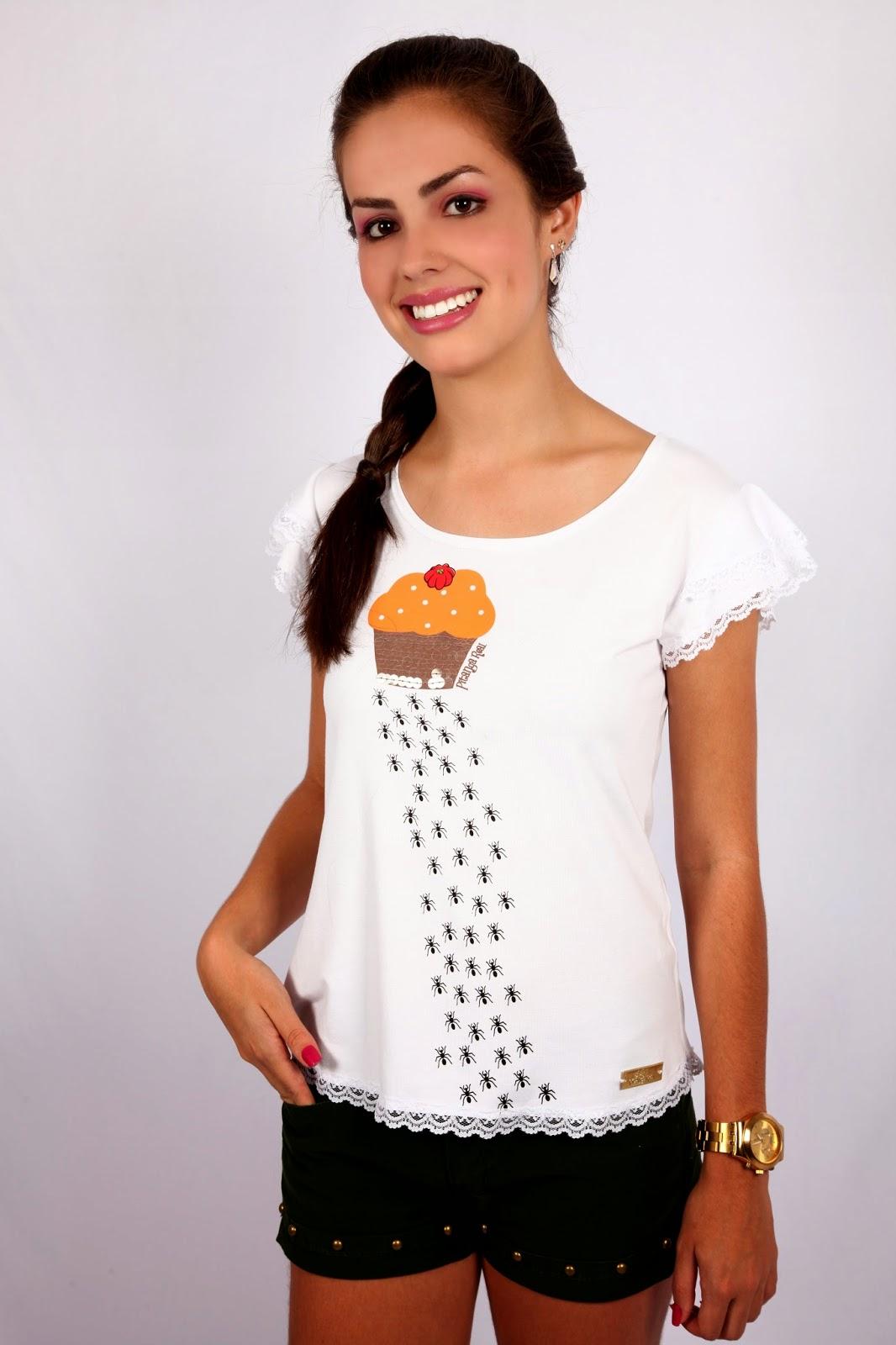 As camisetas e blusas femininas Pitanga Real mais desejadas
