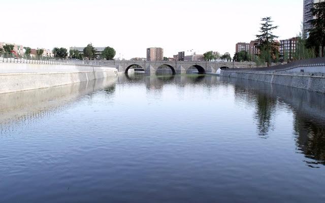 Manzana River in Spain