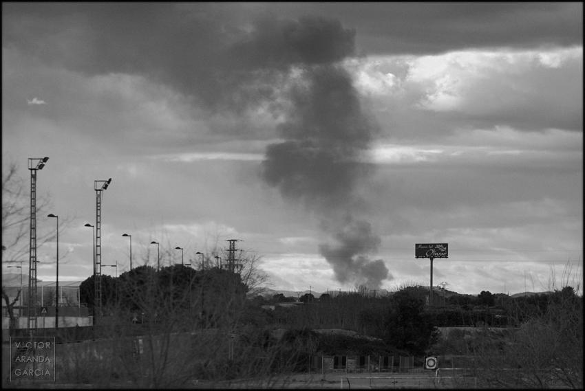 incendio,betera,valencia,humo,paisaje,fuego,fotografia