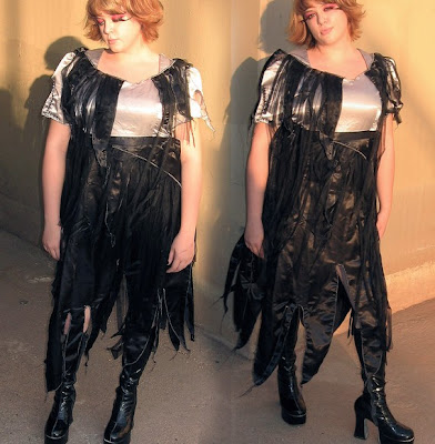 Dress Like The Dead with Plus Size Zombie Prom Dress