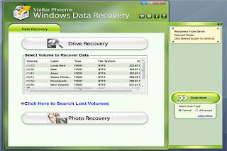 Скачать Stellar Phoenix Windows Data Recovery Professional 6.0.0.0 бесплатн