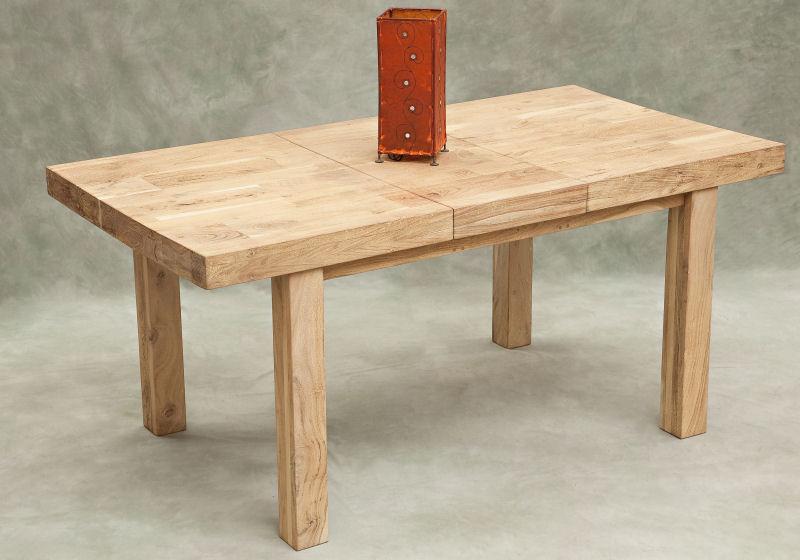 Il calore a tavola con navywood idea arredo - Tavolo legno grezzo ikea ...