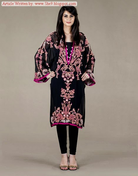 Ayesha Farook Hashwani Winter Dress Collection 2014