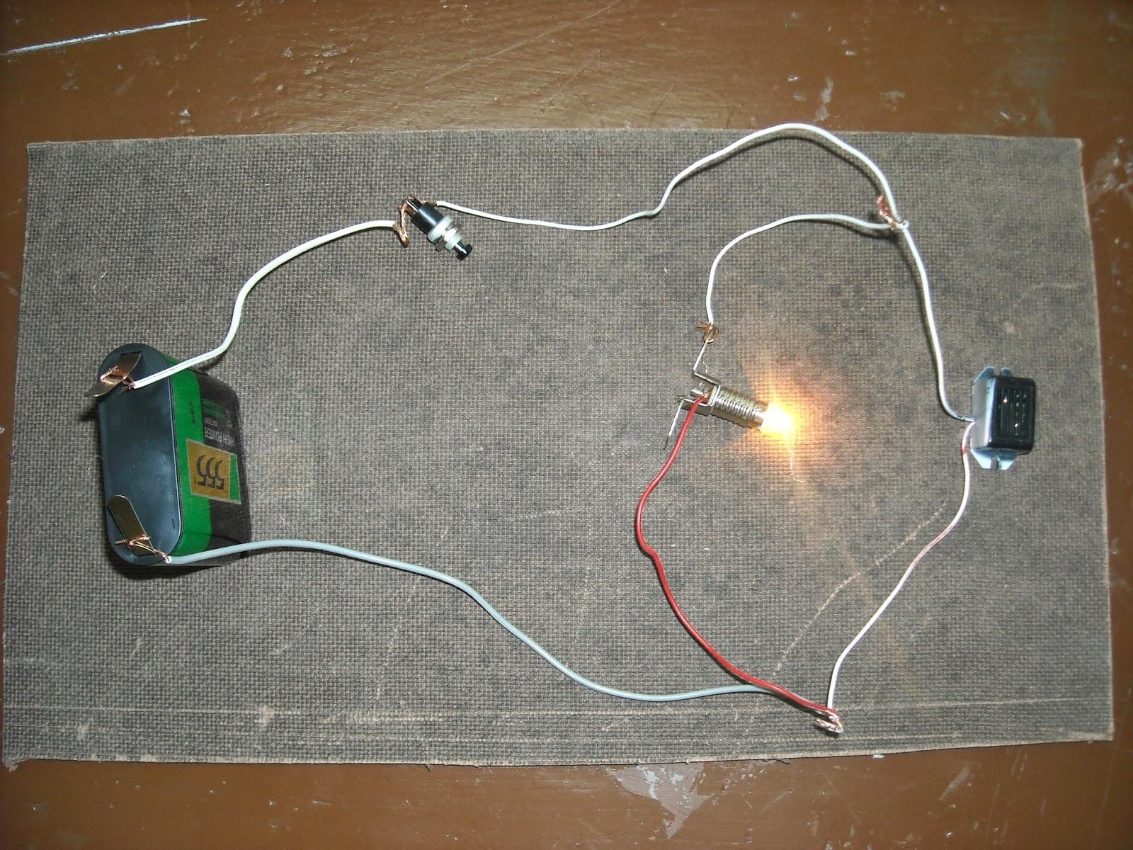 Circuito Zumbador Piezoelectrico : Circuitos en marcha cÓdigo morse con zumbador y bombilla