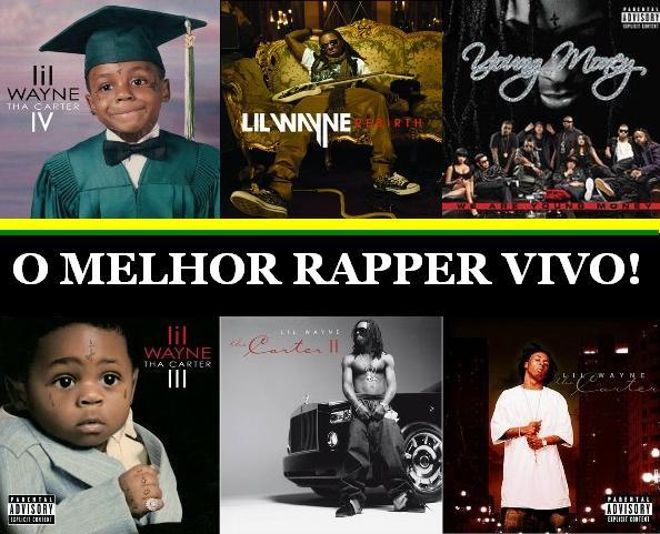 Foto de todos os álbuns do Lil Wayne