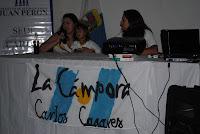 Los compañeros de La Cámpora Carlos Casares rindieron su homenaje a los caídos en Malvinas.