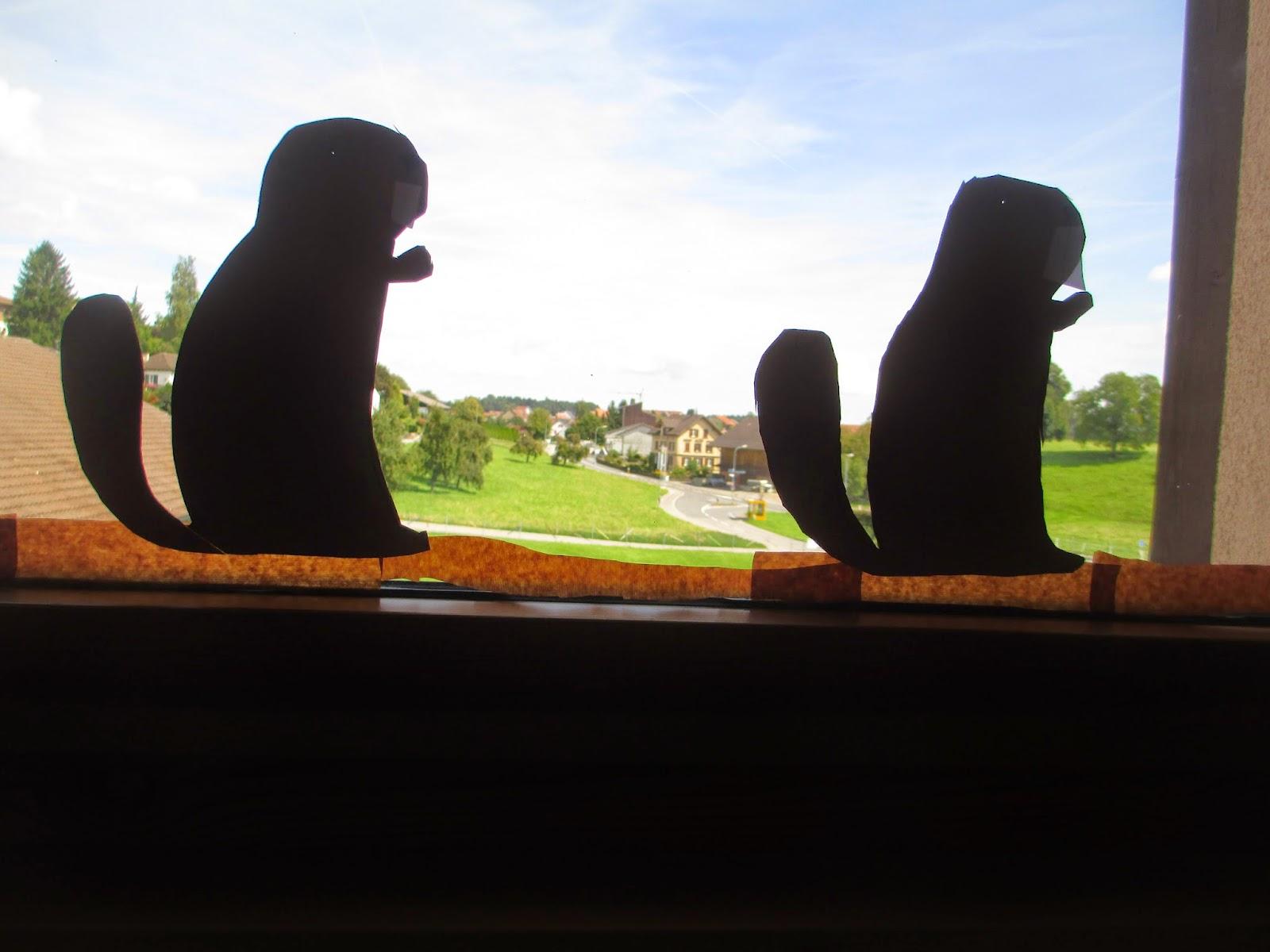 Deko Kindergartenfenster