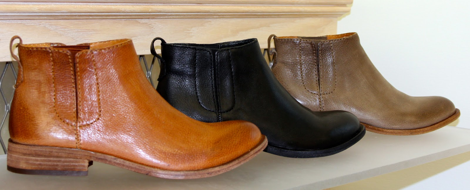 51fc3b398a15 Kork-Ease take on a Chelsea boot-back tan